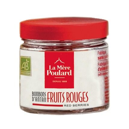 Bonbonnière Fruits rouges BIO 120g